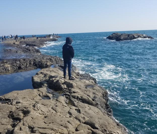 江の島釣りポイント裏磯