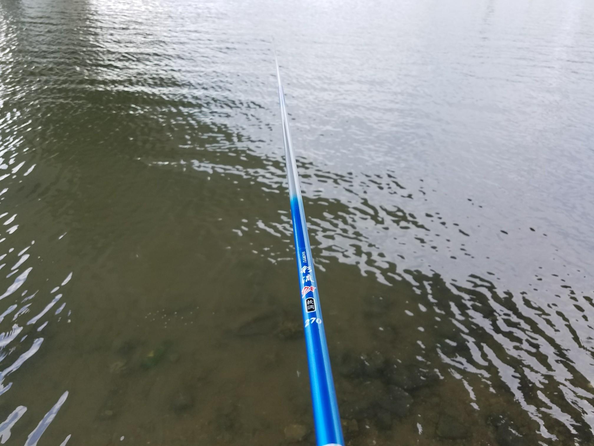 ハゼ釣り のべ竿